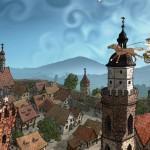Nad třěchami Kamjenca | Über den Dächern von Kamenz