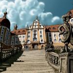 Awgust Sylny čaka w hrodźe Moritzburg | August der Starke wartet auf Schloss Moritzburg